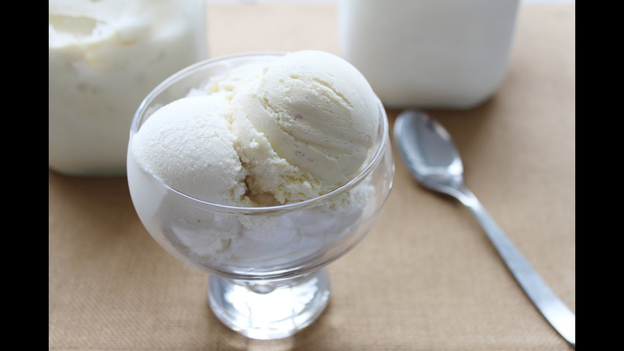 Classic & French Vanilla Ice Cream - YouTube
