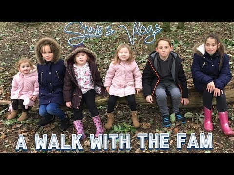 A walk out with the family | Steve's Vlogs