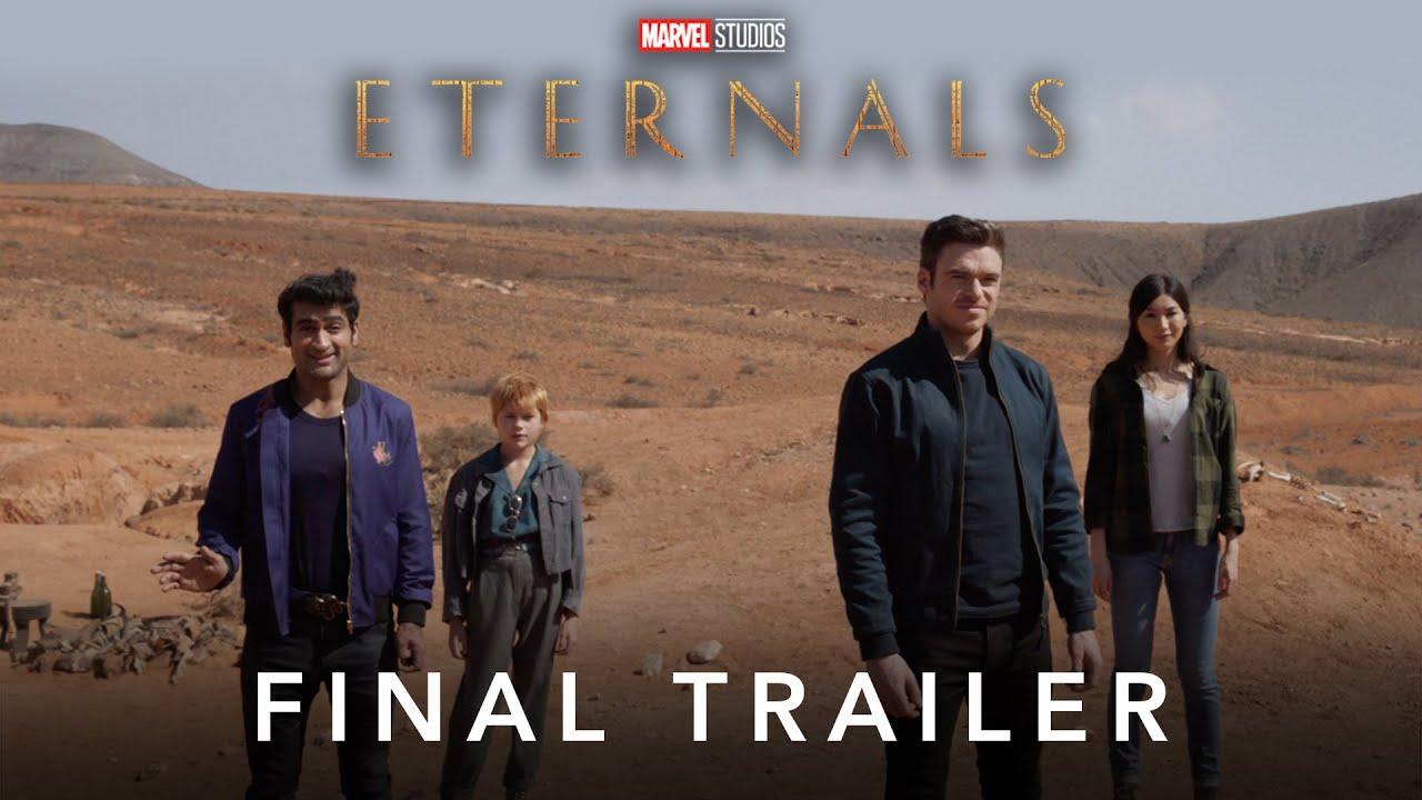 Finale trailer van the Eternals door Marvel Studios width=