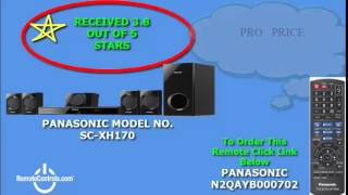 Review Panasonic DVD Home Theater System 5.1-Channel 1000-Watt - SC-XH170