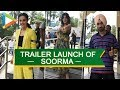 UNCUT: Diljit Dosanjh, Taapsee Pannu @Soorma Trailer Launch | Part 1