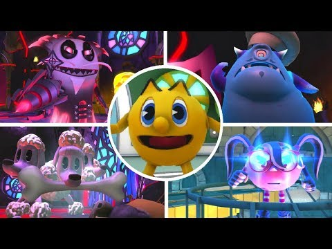 Pac-Man And The Ghostly Adventures - All Bosses
