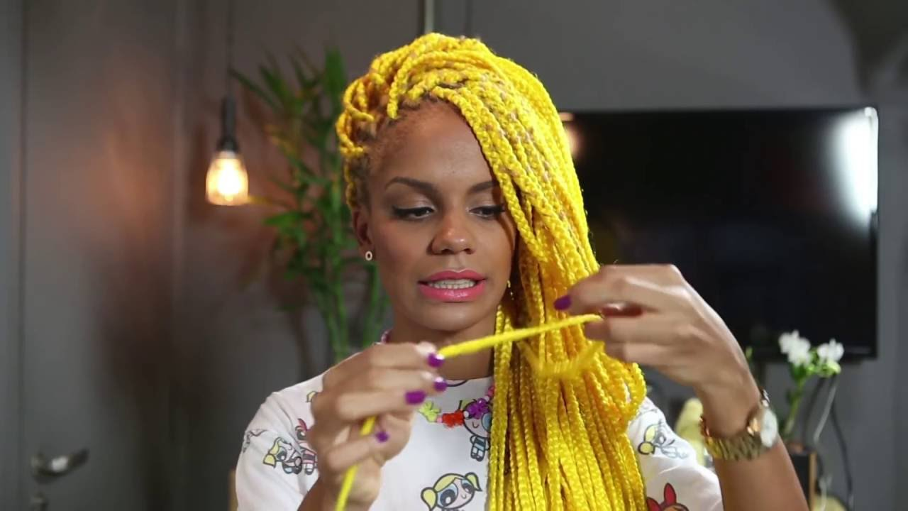 Mag 193 Moura Box Braids 2 Selagem Das Pontas Youtube