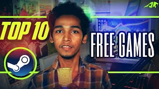 Top 10 free games on steam / best free to play games on steam / free games for pc / in hindi / 2018