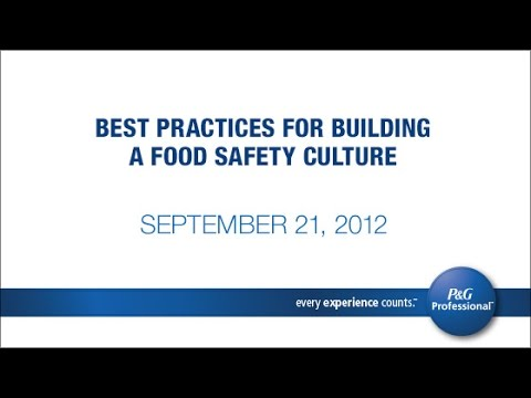 Best Practices for Building a Food Safety Culture