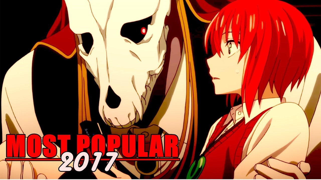 Top 10 most popular anime of 2017
