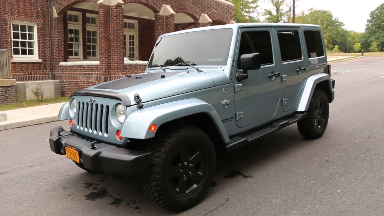 2012 jeep wrangler unlimited rare arctic edition 1 of 1113 produced youtube. Black Bedroom Furniture Sets. Home Design Ideas