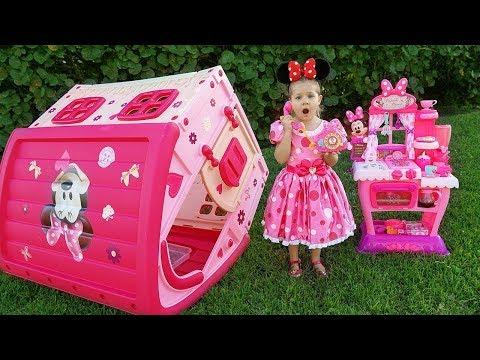 Diana Y El Cumpleaños De Minnie Mouse