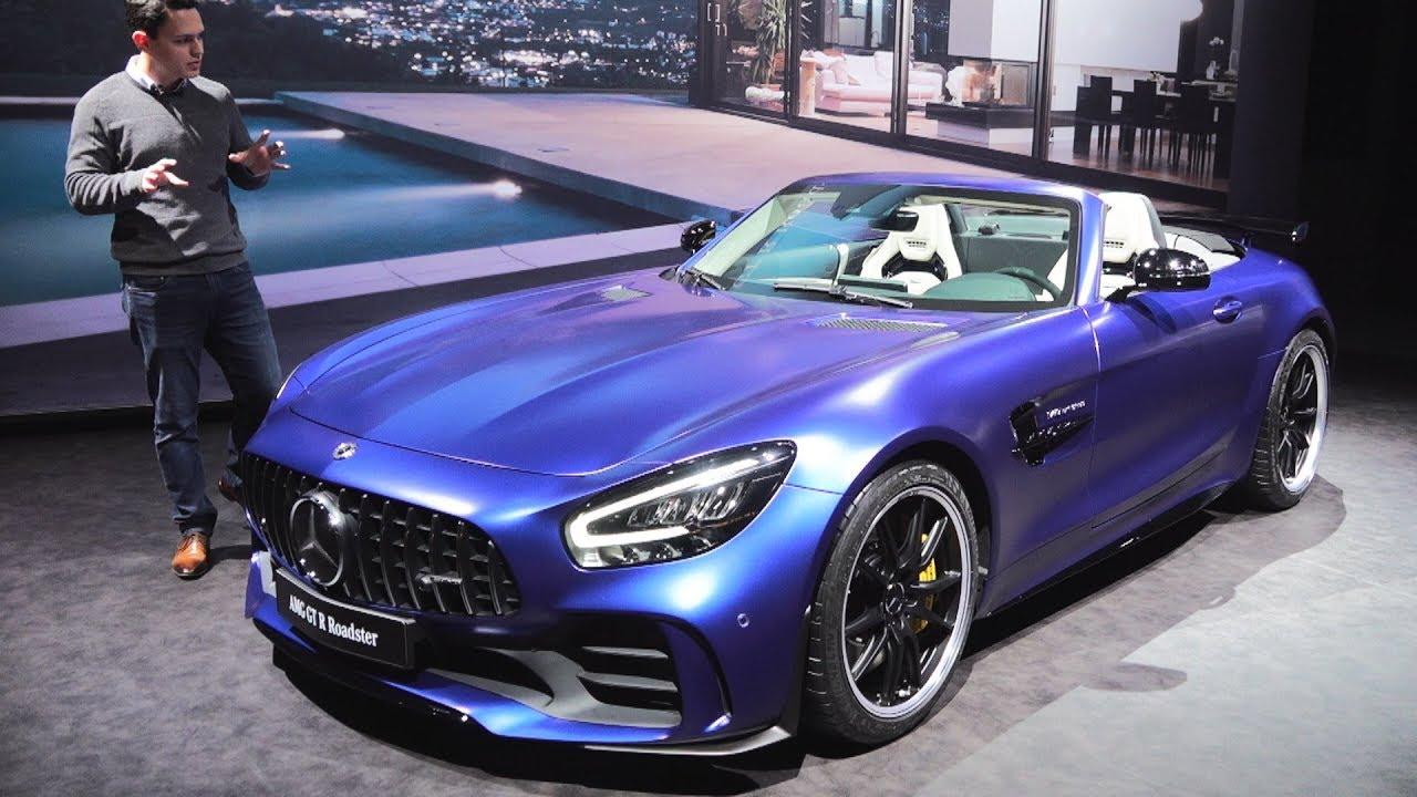 New 2019 Mercedes Amg Gtr Roadster Brutal Full Review Interior Exterior