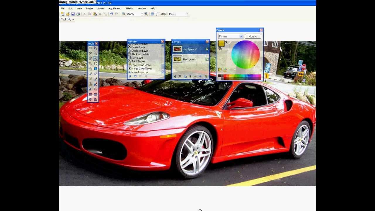 Change Object Color In Paint Net