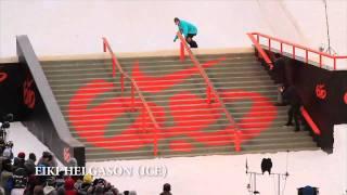 Stairset Battle Final at Nike 6.0 Air  Style, jibbing