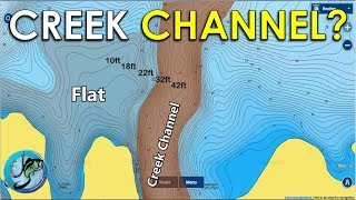 How to Find Fish Year Round Using Creek Channels! Topographic Maps Explained