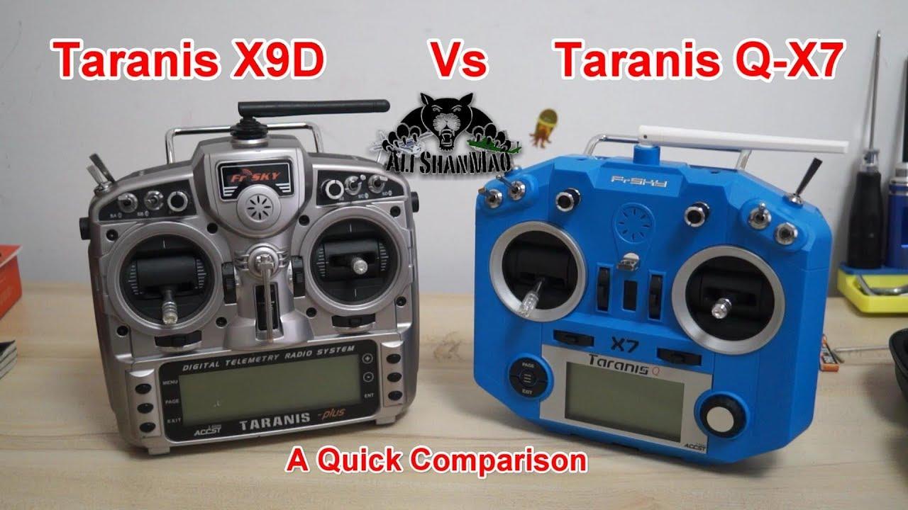 Why You Should Buy FrSky Taranis Q X7 Vs FrSky Taranis X9D