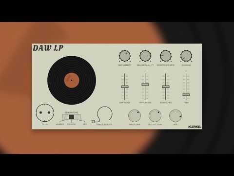 DAW LP – Vinyl Player Simulation