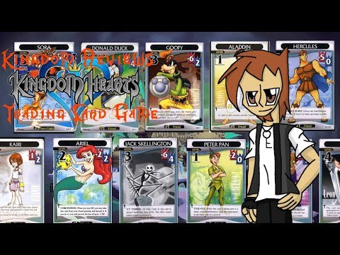 Kingdom Reviews: Kingdom Hearts Trading Card Game