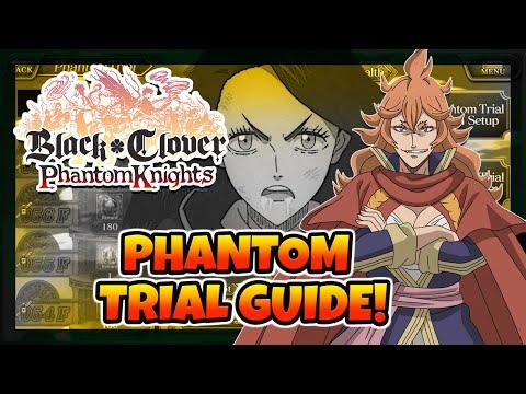Phantom Trials Tips And Tricks Guide   Black Clover Phantom Knights