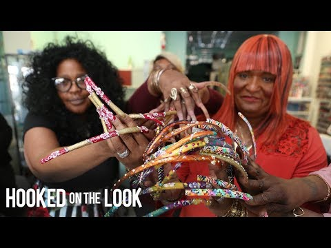 The Sisterhood Of The Long Nail Goddesses | HOOKED ON THE LOOK