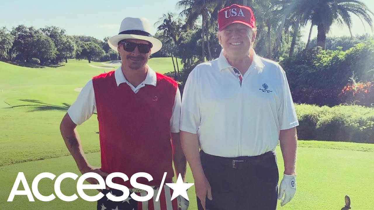 Kid Rock Calls President Trump Down To Earth And Cool Youtube