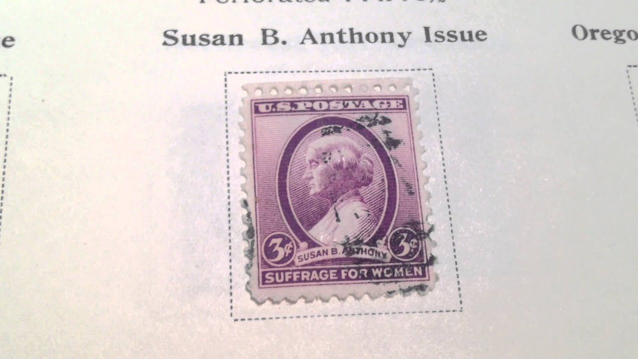 3 Susan B Anthony 1936 US Postage Stamp Scotts 784