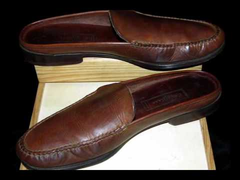 COLE HAAN COUNTRY Mule Brown Leather 10.5 B CLASSIC!