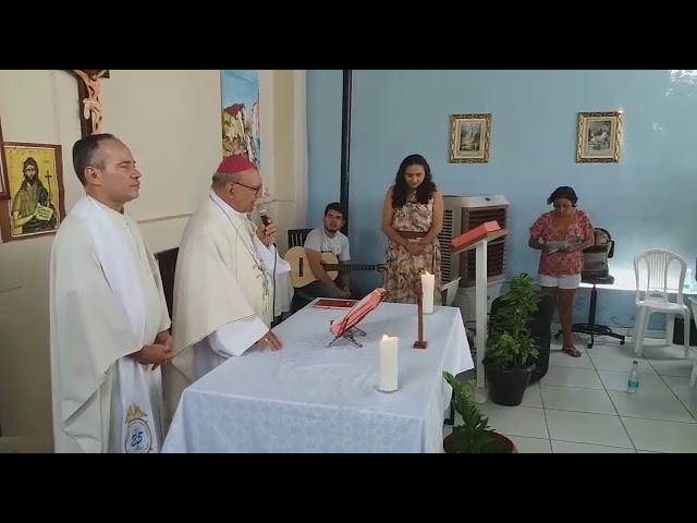 Almoço e celebreção de Missa com Dom Jacinto Bispo de Teresina