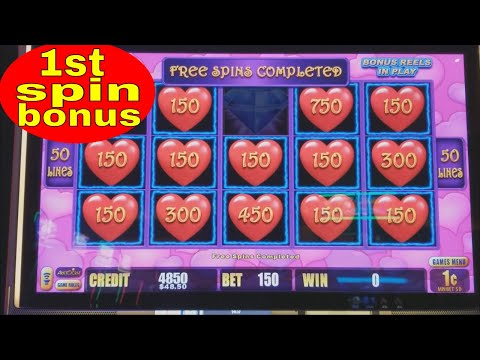 First spin Bonus ⚡️⚡️LIGHTING LINK⚡️⚡️ Heart Throb Slot Machine !!! Live Slot Play - 동영상