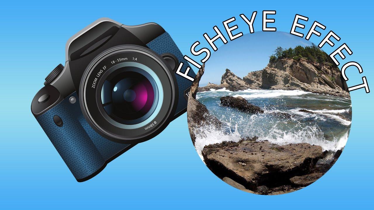 Photoshop cs6 fish eye effect youtube for Fish eye effect