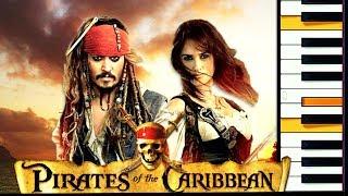 Пираты Карибского моря. Урок фортепиано и ноты
