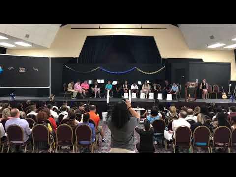 Oakstone Academy PBC Graduation 2019 - Drum Cadence - Zombie Squirrels