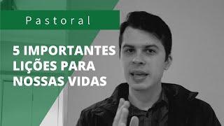 LIÇÕES PARA NOSSAS VIDAS | Rev. Leonardo Tobias | Mateus 4