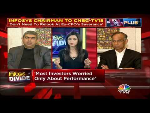 EXCLUSIVE: Infosys Chairman & CEO Speak To CNBC-TV18