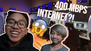 The ONLY GAMING CAFE in NYC! (TAGALOG VLOG w/ SUBTITLES)