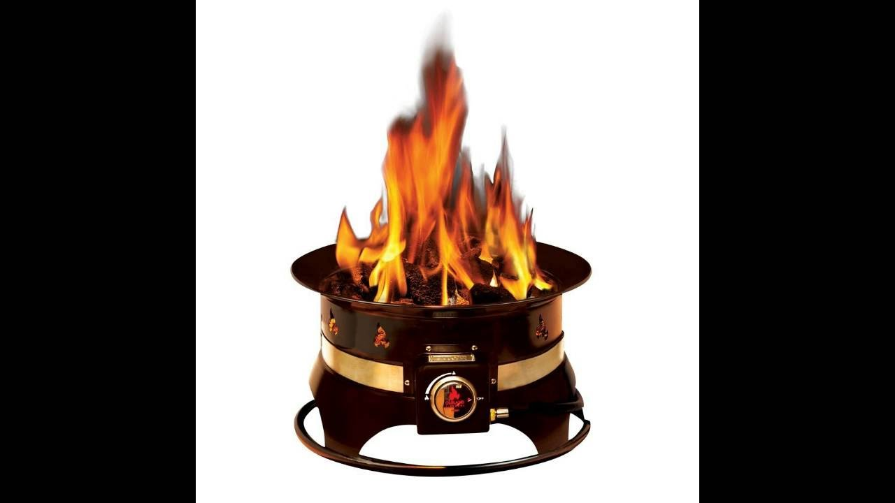 Outland Firebowl Premium Portable Propane Fire Pit - YouTube on Outland Firebowl Propane Fire Pit id=56451