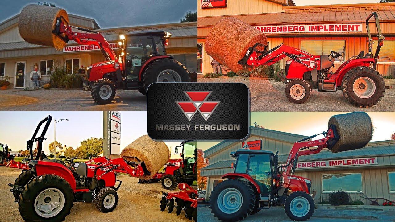 Massey Ferguson Compact & Utility Tractors Lifting Round Bale