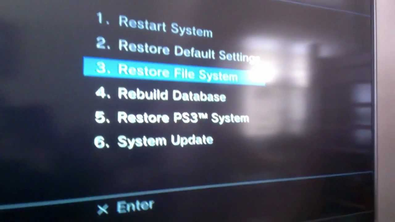 Ps3 reboots when updating games