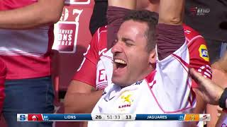 HIGHLIGHTS: 2018 Super Rugby Week 2: Lions v Jaguares