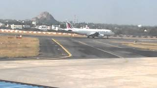 Flight Takeoff Video From Trichy Airport