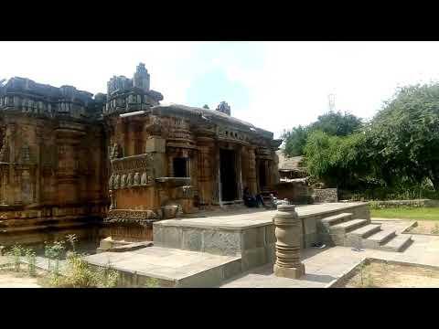 Chandramouleshwara Temple   12th Century Chalukyan Architecture   Unkal, Hubli   Video 4