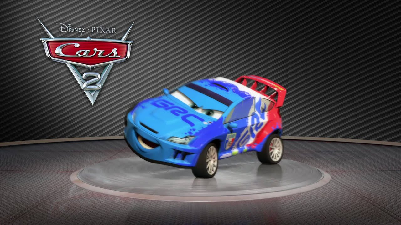 Cars 2: Turntable Raoul ÇaRoule