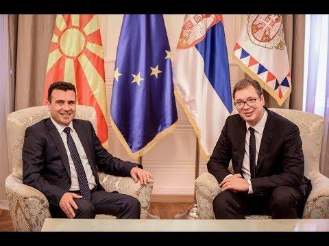 Средба на премиерот Зоран Заев со Претседателот на Република Србија Александар Вучиќ, 21.11.2017