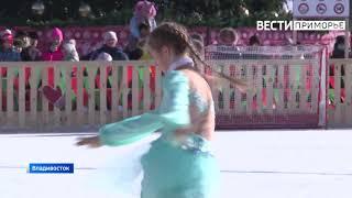 Настроение жаркой Испании показали во Владивостоке фигуристки из Уссурийска