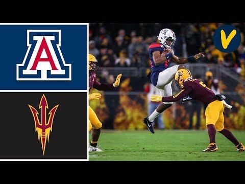 Arizona Vs Arizona State Highlights | Week 14 | College Football 2019