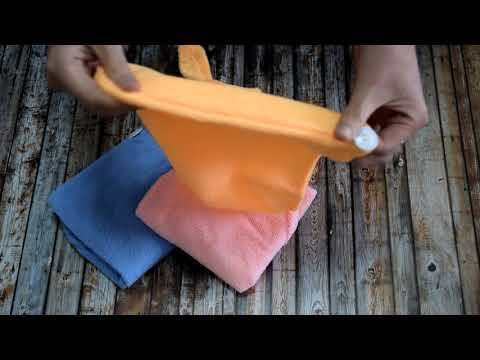 Тюрбан-полотенце для сушки волос Shower Cap