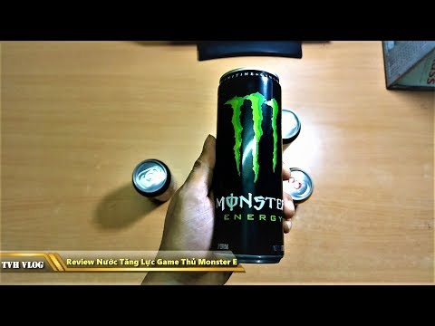 Review nước tăng lực game thủ Monster Energy 355ML | Văn Hóng