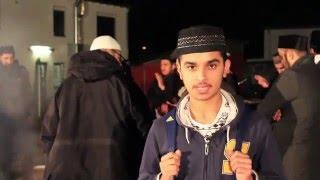 Ein Ahmadi Schülersprecher
