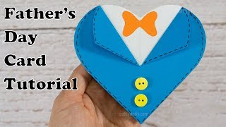DIY Father's Day Card Tutorial | Father's Day Craft Ideas | Craft for kids