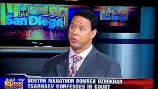 Brian Watkins talks to KUSI regarding recent statements made by the Boston Bomber