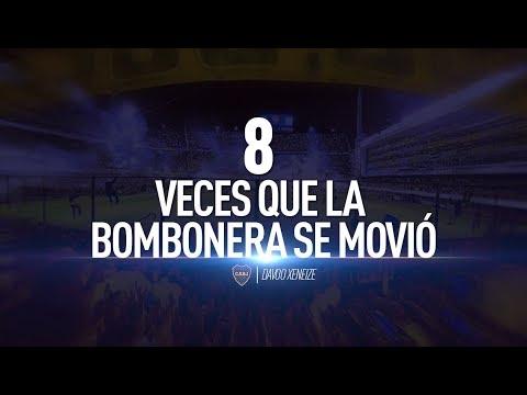 8 veces que La Bombonera se movió
