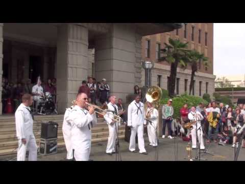 Far East Edition Brass Band at the 2014 Hello Yokohama Festival