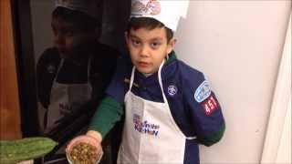 Sisig Quinoa Risotto With Luffa (kabatiti)